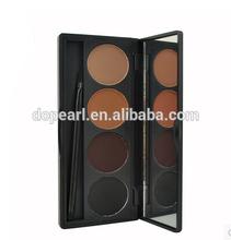 4 color eyebrow powder palette eye brow makeup powder kit