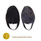 100% Human Natural Hair Straight Curly Wavy Soft Texture Remy Hair Clip Bang Fringe