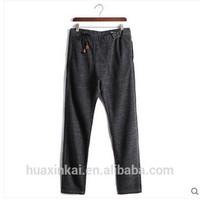 cotton polyester mens cheap sports pants