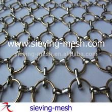 Metal Ring Mesh/metal Ring Curtain/decorative Ring Mesh
