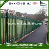 Galvanized and PVC precision palisade