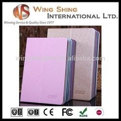 for business portable pu flip stand ipad mini smart case