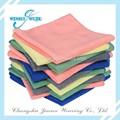 Paño de limpieza de microfibra de limpieza kithen toalla de tela de toalla gruesa venta al por mayor