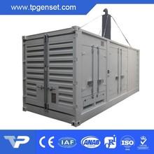 Chinese Yuchai Engine Powered 800kva Soundproof Type Military Diesel Generator
