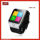 Most Popular lphone bluetooth watch/android Phones Android pedometer bluetooth watch phone S28 Most Popular Bluetooth