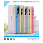 Factory price high quality 10000 mah cell phone portable power bank charger for all smartphone