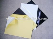 white self-adhesive PVC sheet for photo album
