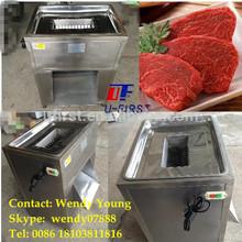 High efficiency stainless steel meat slicing machine