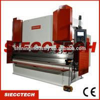 Steel Metal Hydraulic Press Brake Delem DA52 CNC Synchronized Control System,hydraulic synchronous cnc press brake wc67k