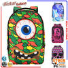 BBP307 Colorful Cool Big eyes pattern backpack clear backpacks wholesale
