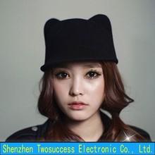 Wool Cat Ears Hat