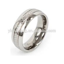 Fashion Men Titanium Adult Power Ring