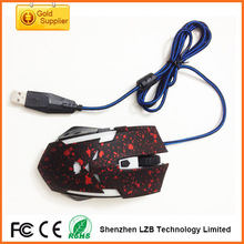 New Design Style 6D Optical Game Mouse/Gaming Mouse with 2000DPI /Wired 6D game mouse for laptop and desktop