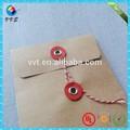 custom envelope kraft com button e encerramento string