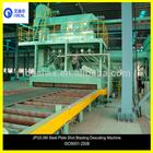 Roller Conveyor I Beam Sheet and Profile Steel Shot Blasting Pretreatment Line Polishing Machine