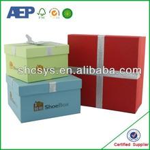 custom design black and white striped gift box in shanghai