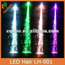 mix color led hair braid Ribbon Hair Extension
