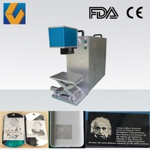 CY-MR 10W 20W 30W Mini Fiber Laser Engraving Machine for Photograph/Picture/Image