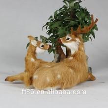 deer family figurine a couple of deer decorations deer in couples