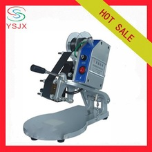 hand operate date coding machine for plastic bags