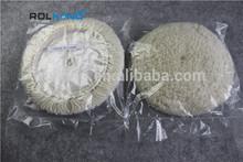 pure wool car buffing and polishing pad