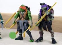 Hot sale cartoon figurine;Teenage Mutant Ninja Turtles cartoon toy;cartoon anime character