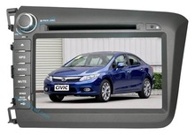 2 Din Speical Car DVD Player and GPS Navigation System, OEM-Fit for Honda Civic 2012
