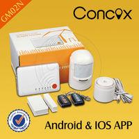 2014 New Security lowes carbon monoxide, Intelligent APP gsm alarm, Andriod/IOS GSM alarm system