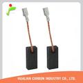 Amoladoras de ángulo bosch taladro eléctrico bosch cepillo de carbono de lavado 06-023 amoladora de ángulo de herramientas eléctricas 5x8x17 piezas