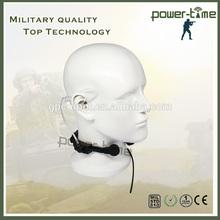 PRC-104 radio throat vibration air tube stereo headsets