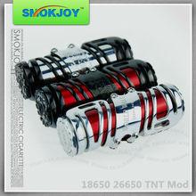 Alibaba china supplier SMOKJOY direct supply health &medical products ,26650 TNT mod& tnt atomizer&tnt mod