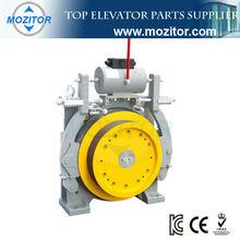 Elevator traction machine