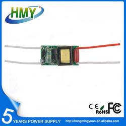 Shenzhen Manufacturer 6W 150mA Internal LED Driver Triac Dimming Driver