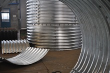 flood control, drainage and storm water product, assembly corrugated steel culvert pipe