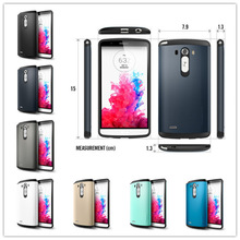 2014 new product TPU+PC hybrid tough waterproof phone case for lg g3