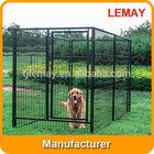 2014 hot selling metal large dog kennel run kit