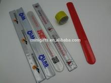 custom design pvc slap bands