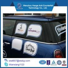 Custom printing Car window removable decals