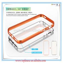 Mobile phone hybrid heavy flash light case for iphone 6