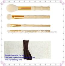 4pcs unique eco-tools natural make up brush set