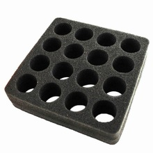 Essential oils insert sponge foam with holes for 16 vials x15ml - able to supply other sizes
