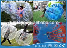 bubble suit soccer/inflatable soccer bubble/bubble football price
