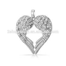 Best seller Supplier angel wing heart pendant