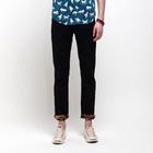Solid color leisure mens summer designer khaki pants MLS001