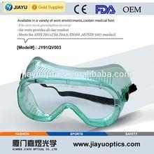 ANSI Z87.1 prescription medical safety goggles