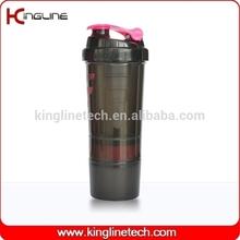 Latest Design 600ml blender bottle compartment OEM (KL-7005)