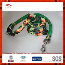 Top quality leash customized nylon LED dog leash manufacturer