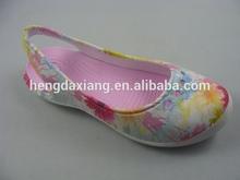Fashion printing high heel sports clogs shoes