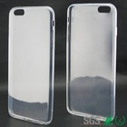 clear ultra slim cell phone back case for iphone 6 plus