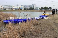 LLDPE 3.2meters hard flat bottom plastic boats/kayak for sale
